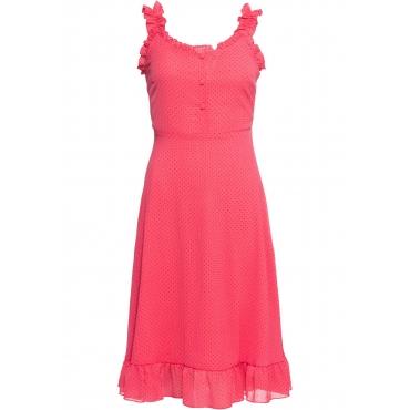 Kleid ohne Ärmel  in pink für Damen von bonprix