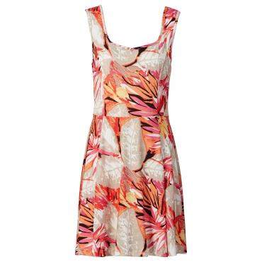 Kleid ohne Ärmel  in pink von bonprix