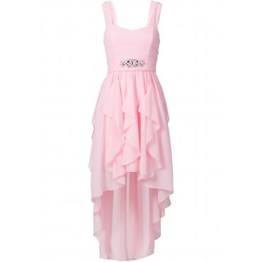 Vokuhila-Kleid ohne Ärmel  in rosa für Damen von bonprix
