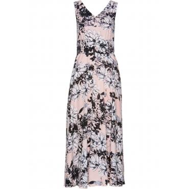 Kleid ohne Ärmel  in rosa von bonprix