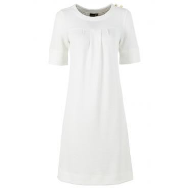 Shirt langarm  in weiß (Rundhals) für Damen von bonprix