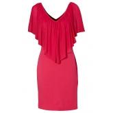 Kleid/Sommerkleid kurzer Arm  in pink von bonprix