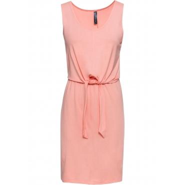 Shirtkleid zum Binden kurzer Arm  in orange für Damen von bonprix