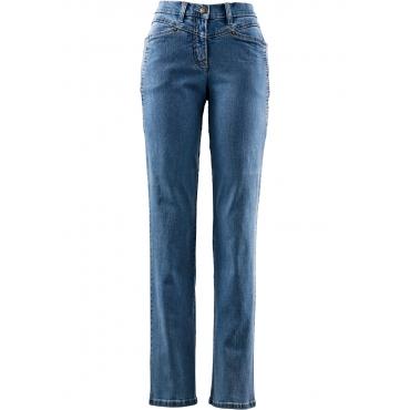 Komfort-Stretchhose in blau für Damen von bonprix