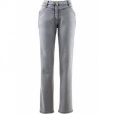 Komfort-Stretchhose in grau für Damen von bonprix