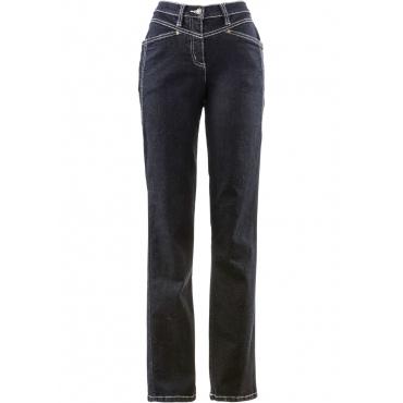 Komfort-Stretchhose in schwarz für Damen von bonprix
