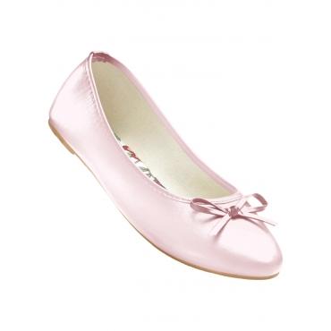 Komfortable Ballerinas in rosa für Damen von bonprix