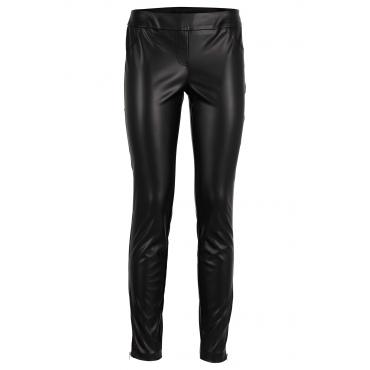 Kunstlederhose in schwarz für Damen von bonprix