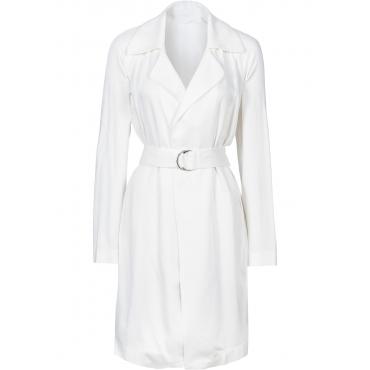 Kurz-Mantel langarm  in weiß für Damen von bonprix