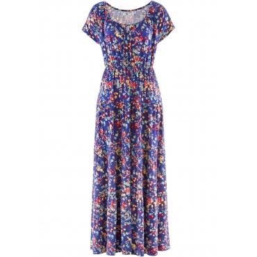 Kurzärmliges Shirtkleid kurzer Arm  in blau für Damen von bonprix