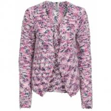 Kurzstrickjacke langarm  in rosa für Damen von bonprix