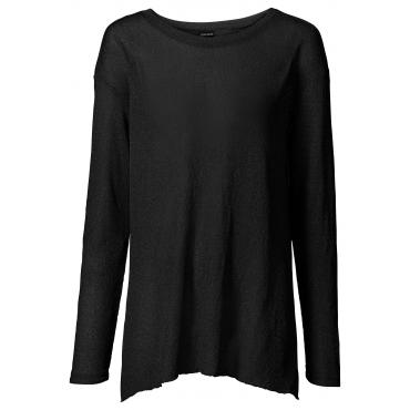 Langarmshirt in schwarz für Damen von bonprix