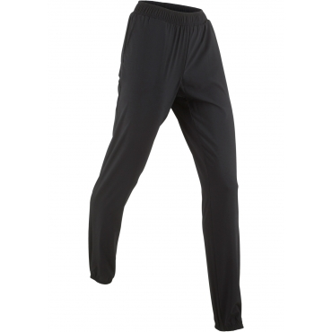 Lange Funktions-Sporthose in schwarz für Damen von bonprix