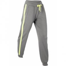 Lange Jogginghose in grau für Damen von bonprix