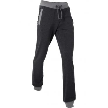 Lange Jogginghose in schwarz für Damen von bonprix