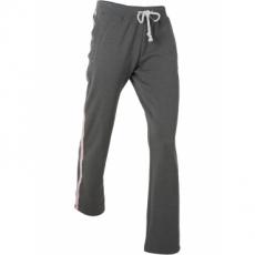 Lange Jogginghose mit Stickerei in grau für Damen von bonprix