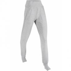 Lange Sport-Shirthose mit Fußstulpen in grau für Damen von bonprix