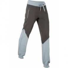 Lange Sweathose in grau für Damen von bonprix