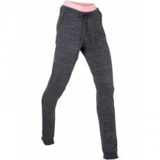 Lange Sweathose mit Neon-Highlights in grau für Damen von bonprix