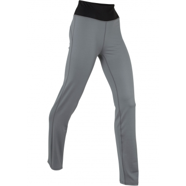 Lange Yoga-Leggings Level 1 in grau für Damen von bonprix
