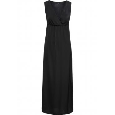Langes Kleid ohne Ärmel  in schwarz von bonprix