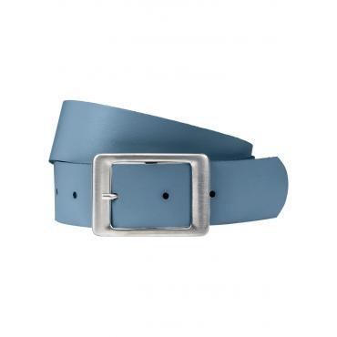 Ledergürtel in blau von bonprix