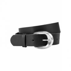 Ledergürtel in schwarz für Damen von bonprix