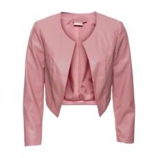 Lederimitat-Bolero 7/8 Arm  in rosa für Damen von bonprix