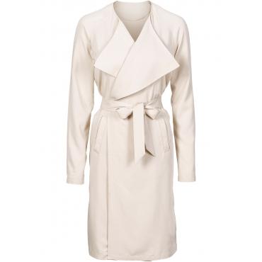 Leichter Trenchcoat in grau für Damen von bonprix