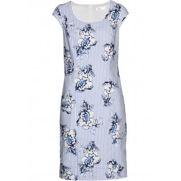 Leinenkleid ohne Ärmel  in blau von bonprix