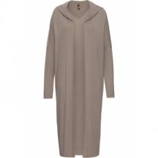 Long-Shirtcardigan langarm  in braun für Damen von bonprix