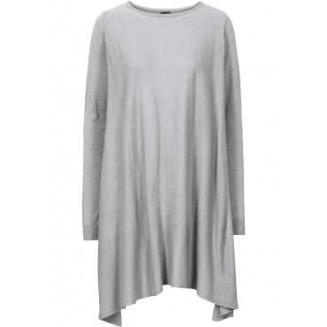 Longpullover langarm  in grau für Damen von bonprix