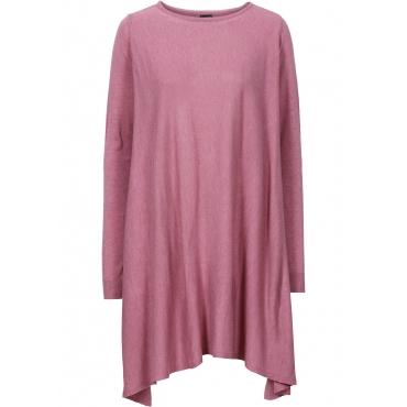 Longpullover langarm  in rosa für Damen von bonprix