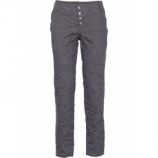 Loose-Fit Hose in Crash-Optik in grau für Damen von bonprix