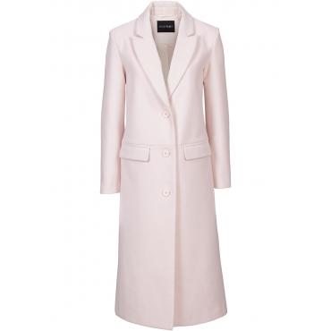 Mantel langarm  in rosa (V-Ausschnitt) für Damen von bonprix