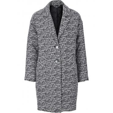Mantel langarm  in schwarz für Damen von bonprix