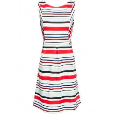 Maritimes Kleid ohne Ärmel  in weiß für Damen von bonprix