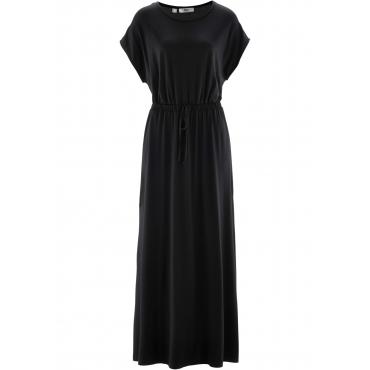 Maxi-Kleid ohne Ärmel  in schwarz (Rundhals)  von bonprix