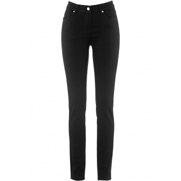 Megastretch-Jeans in schwarz für Damen von bonprix