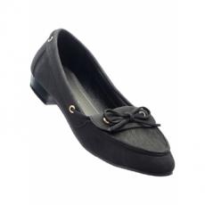 Mokassin in schwarz von bonprix