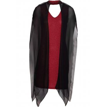 Neckholder-Kleid ohne Ärmel  in rot für Damen von bonprix