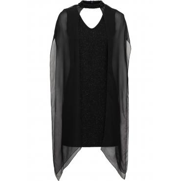 Neckholder-Kleid ohne Ärmel  in schwarz für Damen von bonprix