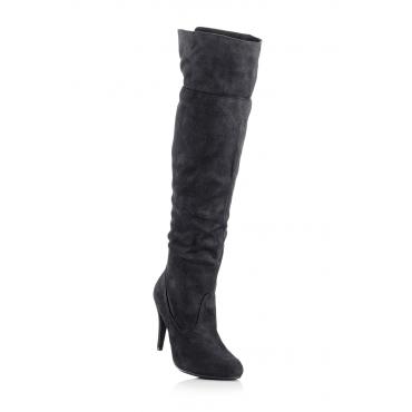 Overkneestiefel in schwarz für Damen von bonprix Liefern Rabatt Finish Preise Online-Verkauf ZxxWUdvm