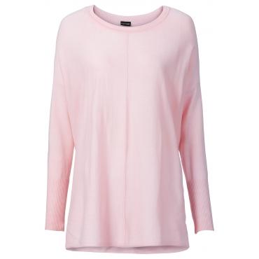 Oversize-Pullover in rosa für Damen von bonprix