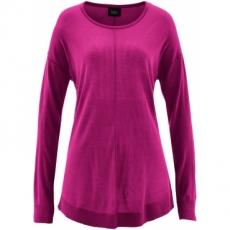 Oversize-Pullover langarm  in lila für Damen von bonprix