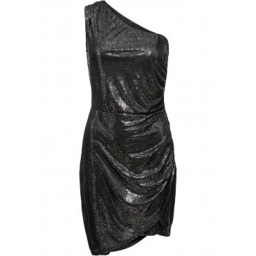 Party Kleid ohne Ärmel  in silber von bonprix