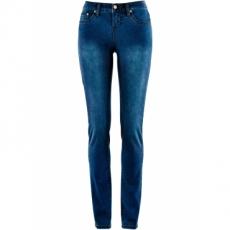 Power-Stretch-Jeans Straight in blau für Damen von bonprix