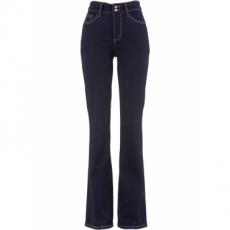 Power-Stretch-Push-Up-Jeans im Bootcut in schwarz für Damen von bonprix