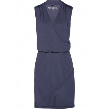 Premium Shirtkleid in Modal-Qualität ohne Ärmel  in blau für Damen von bonprix