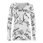 Pullover in weiß (V-Ausschnitt) für Damen von bonprix